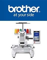 Brother PR emrboidery machines